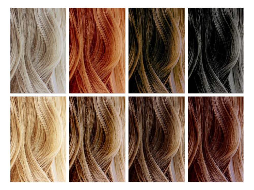 how to determine your natural hair color