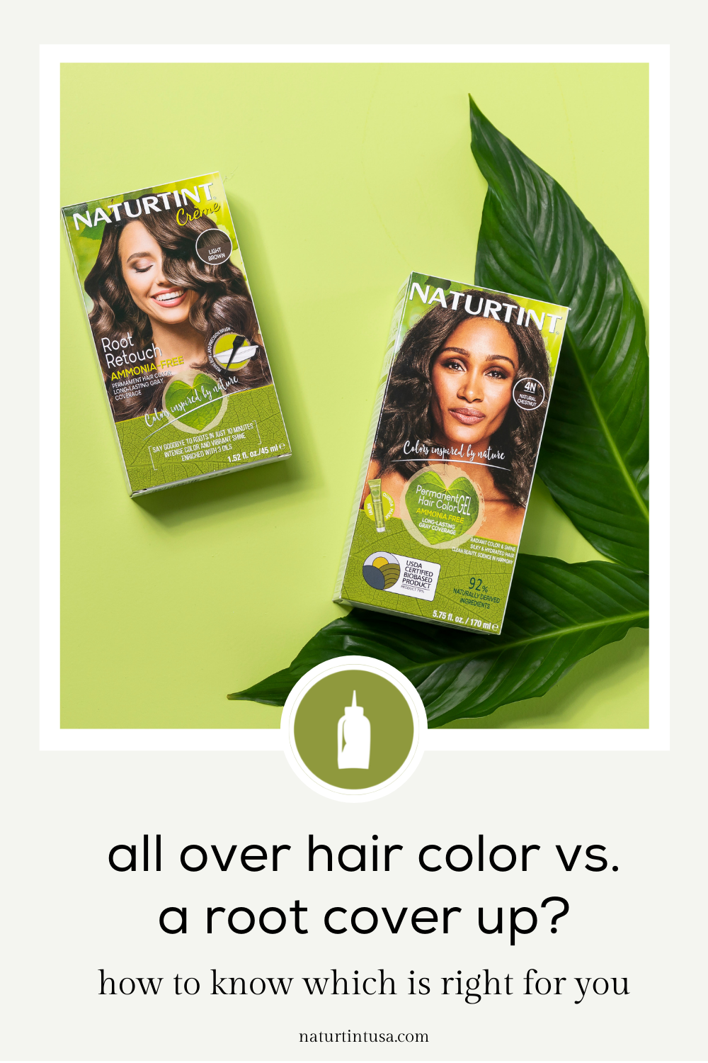 Insider tips to help you figure out whether to do all over color or a root cover up